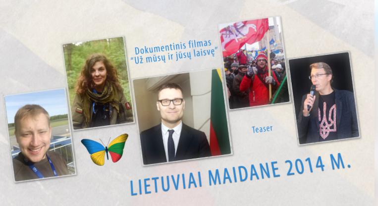 Литовці на українській Революції Гідності